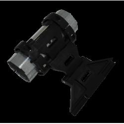 Poulie diamètre 155 pour tube octo de 40, roulement diamètre 28  pour sangle de 14 mm