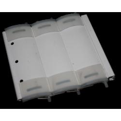 flasque de guidage dimaètre 160 mm pour tube octogonal de 40 mm