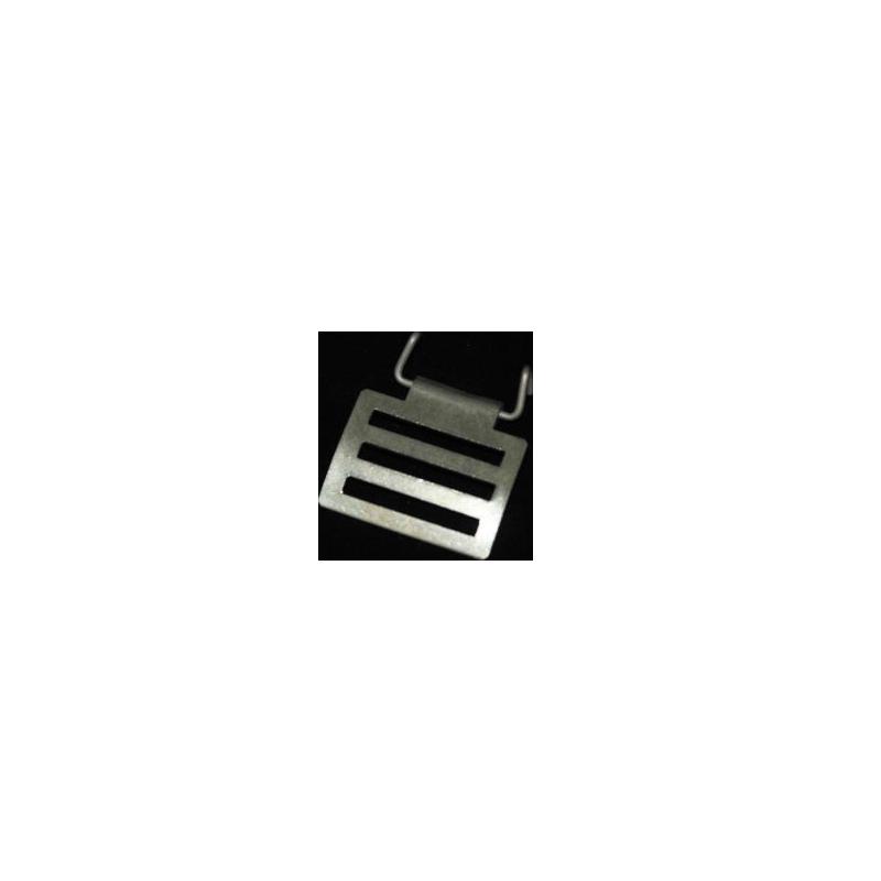 Attache tablier tube octo, 130 mm pour lame 37-42