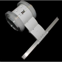 Attache tablier tube ZF, 150 mm pour lame 37-42