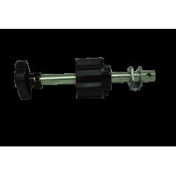 Crochet attache sangle réglable pour tube ZF