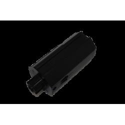 Embout tandem pour tube ZF 64, rond diamètre 16, longueur 220 mm