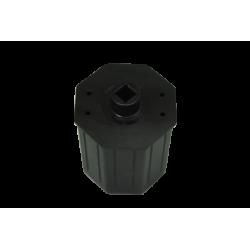Embout réglable pour tube octo 60, diamètre 12 longueur 200 mm