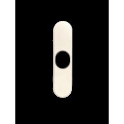 Embout pour tube octo 40 , carré de 10 , diamètre 18 rond, longueur 65 mm
