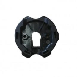 Lame finale pour tablier PVC 55 et ADP 55 blanc ral 9010 L 1500 mm