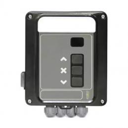 Lame PVC 37 mm non ajourée L 1500 mm