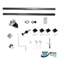 Axes complets motorisés pour volet roulant - Brico-Volet