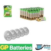 Piles GP batteries pour commande de volet roulant - Brico-volet